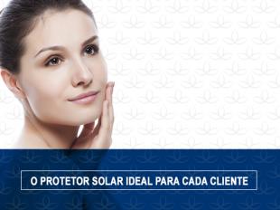 Melhor protetor solar para sua cliente